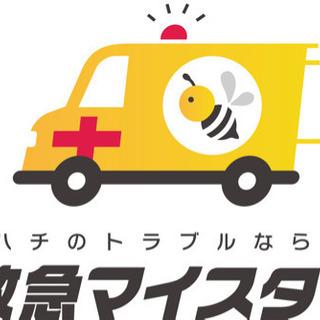 蜂の駆除は救急マイスター!蜂駆除!奈良県