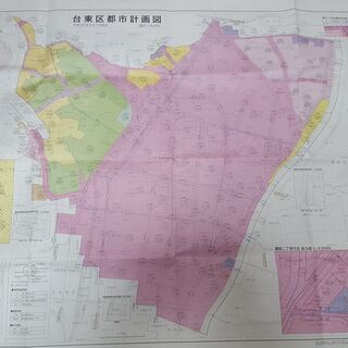 台東区都市計画図 用途地域 / 高度地区 / 都市計画街路…