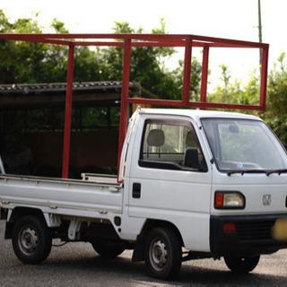 キャンピングカーシェル キッチンカー フレーム 軽トラ 架装