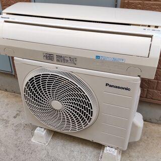 ②パナソニック CS-222CF 6畳向け 暖房もエアコンで !...