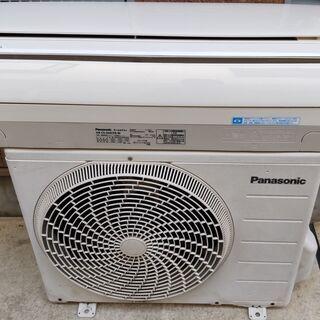 ①パナソニック CS-224CFR 6畳向け 暖房もエアコンで !