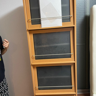 本棚 ブックマン 飾り棚 チェスト 食器棚 中古 - 大阪市