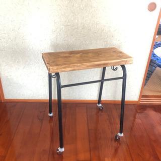 リメイク サイドテーブル &  テーブル用 アイアン脚