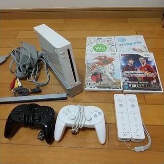 【7月中引き取り価格】Wii すぐ遊べるセット