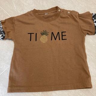 パイナップル tシャツ 80