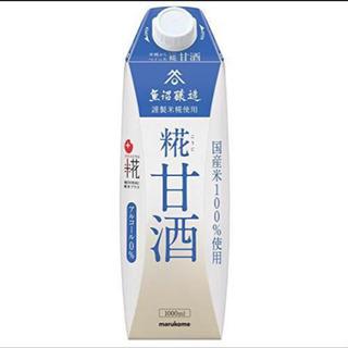 プラス糀 糀甘酒【国産米100%使用】 1000ml×6本