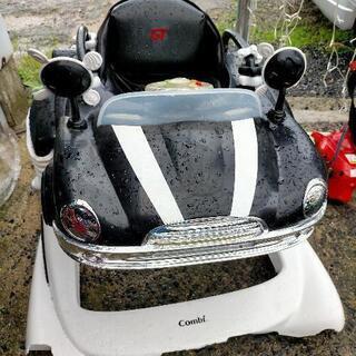 【値下げ】3way ジャンプ&ゴー ベビーウォーカー 車 GT ...
