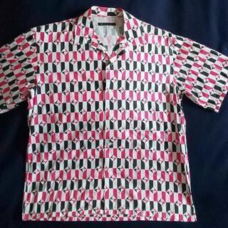 メンズ半袖サマーシャツ(未使用Mサイズ)