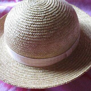 【最終処分】 Used 女児 麦わら帽子 暑さ対策