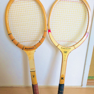 観賞用 レトロなテニスラケット