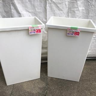 【ネット決済】IKEAのゴミ箱入荷しました😊1個¥800( ¨̮...