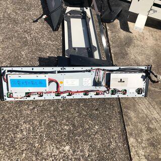 日野ポンチョ路線仕様備品 後方LED行先表示板