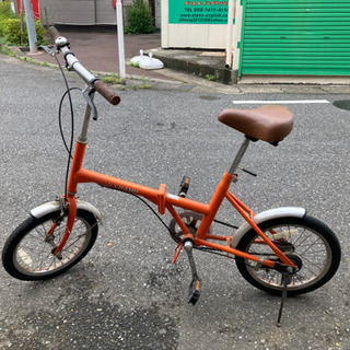 【リフレッシュプロジェクト168/300】折り畳み式自転車の画像