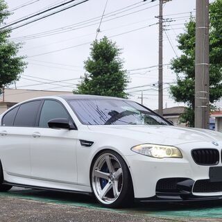 【総額398万円】BMW M5(F10) アルピンホワイトⅢ マ...
