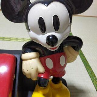 【ネット決済・配送可】ミッキーマウス 電話機