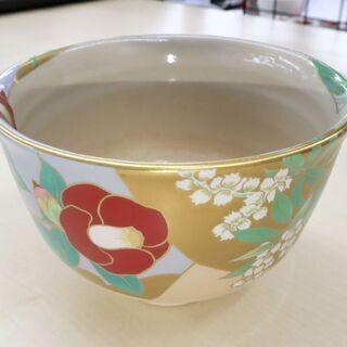 御所の花 桑野睦子 抹茶茶器コレクション 3月(弥生) 椿