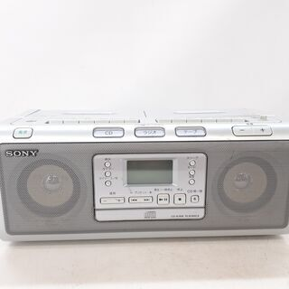 SONY CDラジカセ CFD-W77 通電確認済み / NJ-...