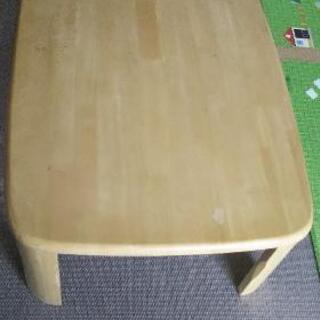 【値下げ】ローテーブル(折り畳み式)