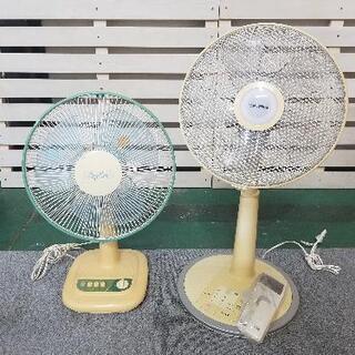 扇風機 2台セット リモコン、説明書付き