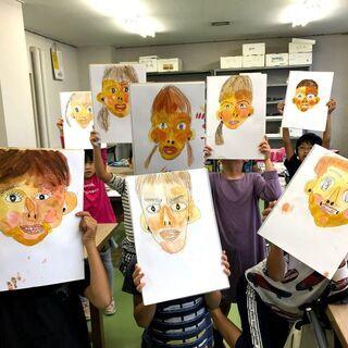 絵が苦手な子専用!絵が好きになる子供絵画教室(基礎6回講座)生徒...