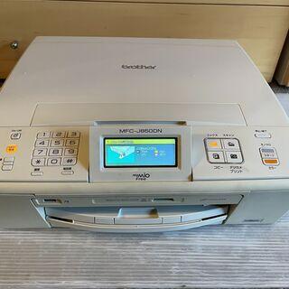 ブラザー A4プリンター複合機 MFC-J850DN wi-fi...