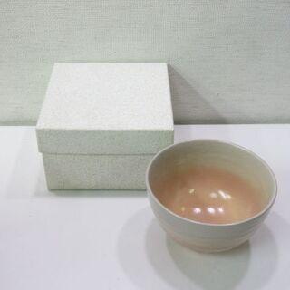 【ネット決済・配送可】jtp-0378 未使用品 萩焼風 抹茶碗