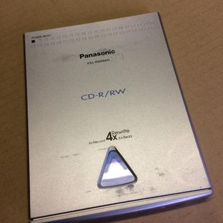 パナソニック  CD-R/RW   ポータブルドライブ