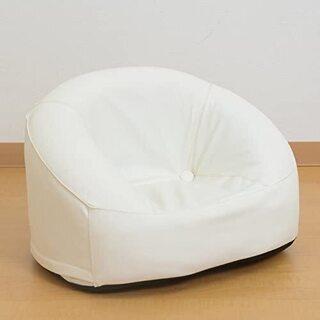 子供椅子【パズ/アイボリー色】②キッズソファ 椅子 1人掛…