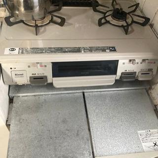 【取引中】スライド式 ガスレンジテーブル ステンレス キッチンカ...