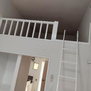 月家賃2万5千円のみで入居可。アパート1K+ロフト付き