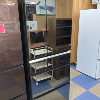 【配送設置無料エリア拡大】直接引き取り大歓迎 ☆美品☆ パナソニック ノンフロン冷凍冷蔵庫 NR-F472XPV-X 470L 2017年製の画像