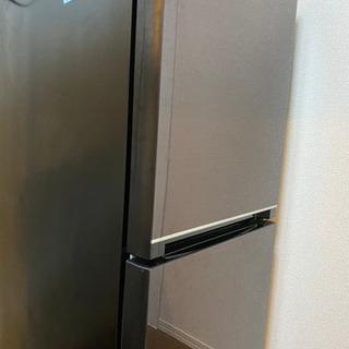 ハイセンス 冷蔵庫 2020年製 ブラウン