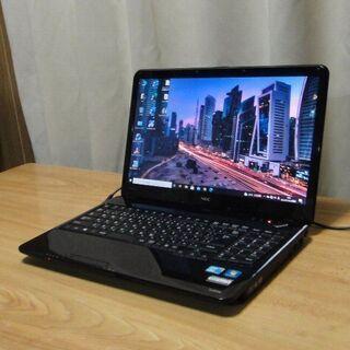 感謝特価 NEC Lavie PC-LS350B 15.6インチ...