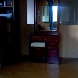 鏡台です。外見はとてもきれいです。