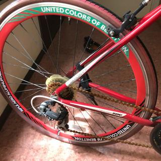 UNITED COLORS of BENETTON クロスバイク...