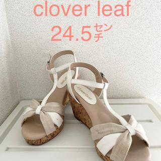 clover leafサンダル 24.5センチ