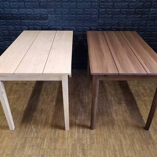 ダイニングテーブル・横115㎝-縦68㎝-高さ72㎝・ウォ…