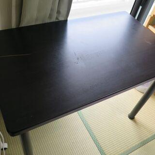 【無料で引取願】机・テーブル 横幅100センチ