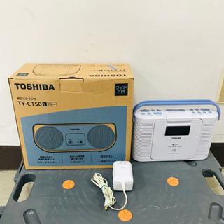 取引場所 南観音 K 2107-168 東芝CDラジオ TY-C...
