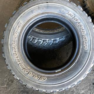 【ネット決済】グラントレック MT2 225/75R16 中古タイヤ