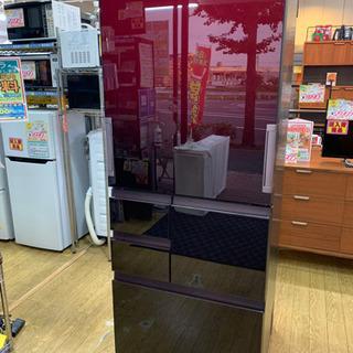 ⭐️9/14 値下げ⭐️2019年製 SHARP 502L冷蔵庫 プラズマクラスター どっちもドア 無線LAN SJ-AW50F-R シャープの画像