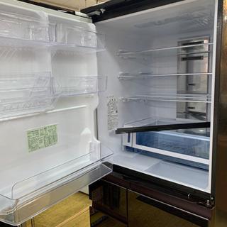 ⭐️9/14 値下げ⭐️2019年製 SHARP 502L冷蔵庫 プラズマクラスター どっちもドア 無線LAN SJ-AW50F-R シャープ - 福岡市