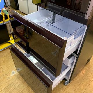 ⭐️9/14 値下げ⭐️2019年製 SHARP 502L冷蔵庫 プラズマクラスター どっちもドア 無線LAN SJ-AW50F-R シャープ - 家電
