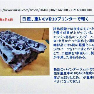 金属3Dプリンタの利用について解説した冊子です - 日立市