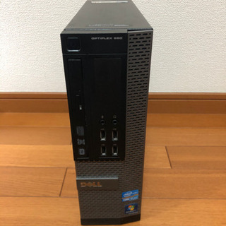 【受け渡し者決定】美品 Corei5 デスクトップパソコン DELL