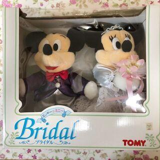 【未開封】トミー ブライダルミッキー&ミニー