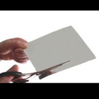 【ネット決済】ハサミでカット出来る鏡です^ ^