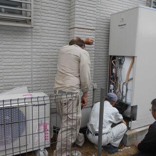 埼玉県さいたま市エコキュート施工修理交換