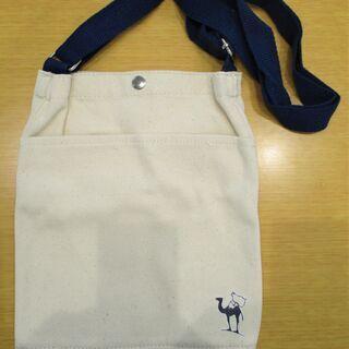 【未使用品】サライ謹製帆布肩掛けバッグ(サライ2020.8月号付録)