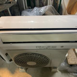 【ケイズエアシステム】6畳用エアコンの中古品。標準取り付け工事費...